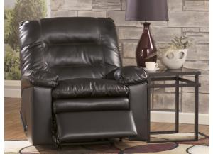 LR41 Coffee Leatherblend Rocker Recliner from the Triple Pub Collection
