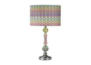 Multicolor Chrome & Acrylic Youth Lamp