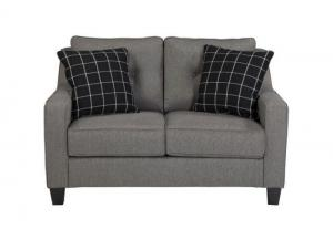 Charcoal Loveseat from the Brindon Collection