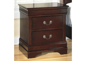 MB13 Louis Brown Cherry Nightstand