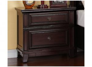 MB39 Transitional Espresso Nightstand
