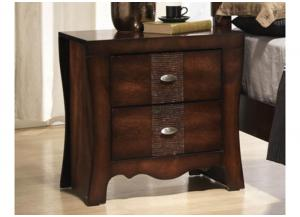 MB40 Contemporary Flair Nightstand