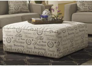 LR44 Script Ottoman from the Teahouse Collection