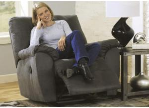 LR4 Contemporary Grey Rocker Recliner