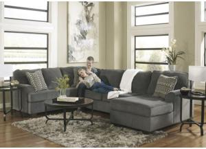 LR39 Smoke 3-Piece Sectional from the Lugarno Collection