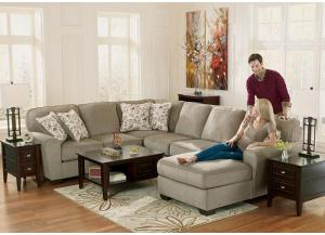 LR40 Patina 4-Piece Sectional from the Blue Night Collection