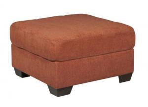 LR47 Rust Ottoman from the High Energy Collection