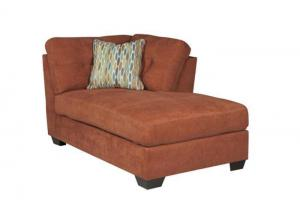LR47 Rust RAF Corner Chaise from the High Energy Collection