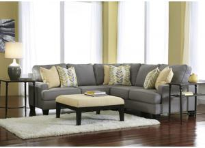LR53 Alloy 3-Piece Sectional from the Edward Collection