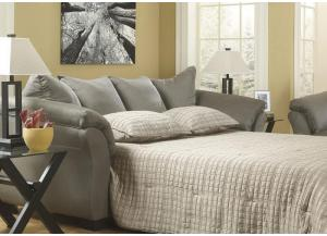 LR85 Cobblestone Full Sleeper Sofa from the Microfiber Collection