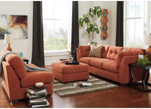 LR47 Rust Sofa from the High Energy Collection