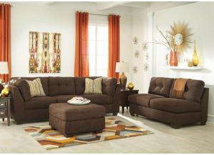 LR47 Chocolate Sofa from the High Energy Collection