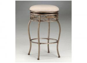 MS30-34 - Backless Swivel Bar Stool
