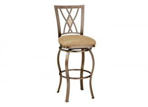 MS30-40 - Diamond Fossil Back Swivel Bar Stool