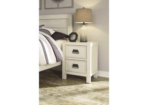 YB22 White  Nightstand