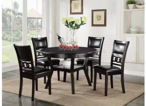 GIA TABLE AND FOUR CHAIRS