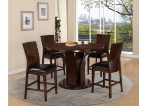 DARIA COUNTER TABLE WITH 4 CHAIRS