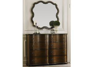COTSWOLD BUREAU WITH MIRROR