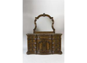 San Mateo Dresser with Mirror,PULASKI FURNITURE