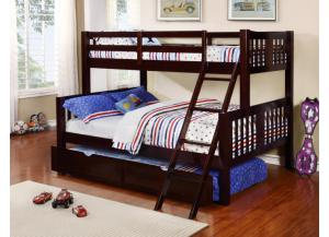 ASHMORE TWIN OVER FULL BUNKBED (NO TRUNDLE)