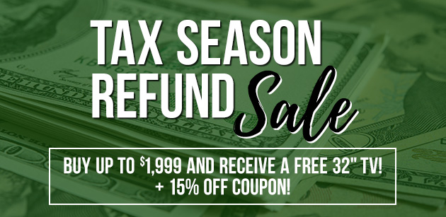 Tax Season Refund Sale