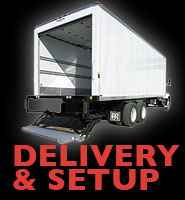 Delivery & Setup Ad