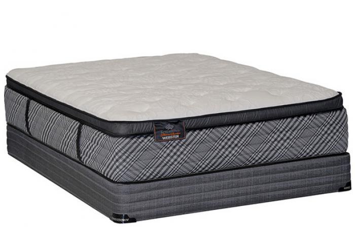 webster pillow top king mattress