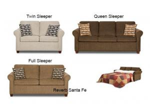 Reverb Santa Fe Full Sleeper Sofa 1630
