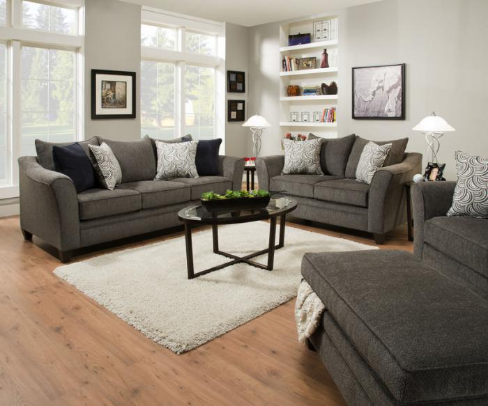 Albany Pewter Sofa & Loveseat $899.95,United Furniture Industries