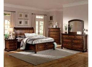 Home Elegance Queen Bed, Dresser, Mirror