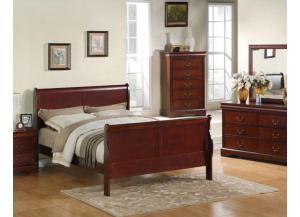 Lewiston Queen Bed, Dresser, Mirror