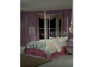 Princess Bed Silver Twin