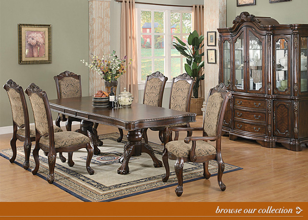 Click to browse our dining room collection