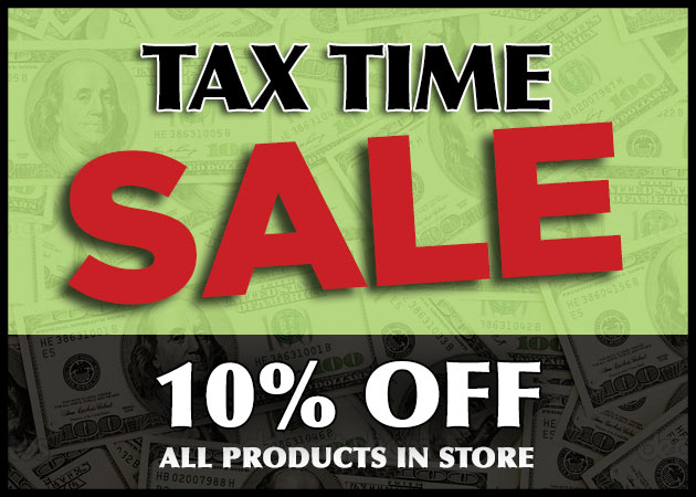 Tax Time Sale
