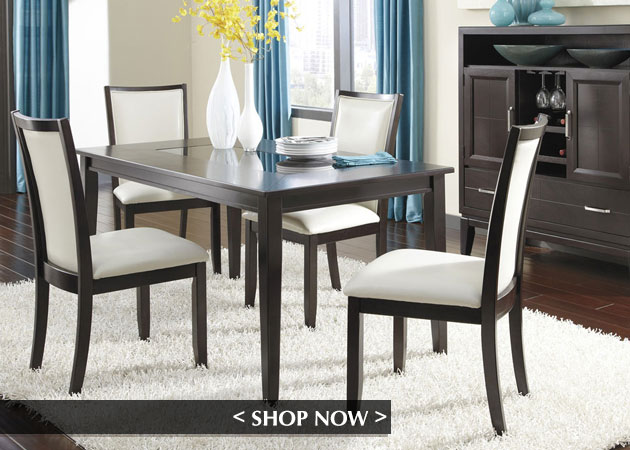 Trishelle Cream Dining Set