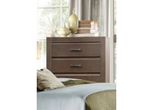 Contemporary Espresso 5-Drawer Chest