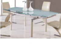 Global Furniture D88 Beige Dining Table