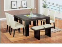 Global Furniture 7-Piece Beige Dining Room Set