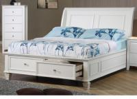 Selena Twin Storage Sleigh Bed
