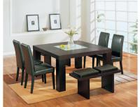 Global Furniture 7-Piece Brown Dining Room Set
