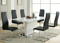 White Coaster 5 piece Dining Room Set