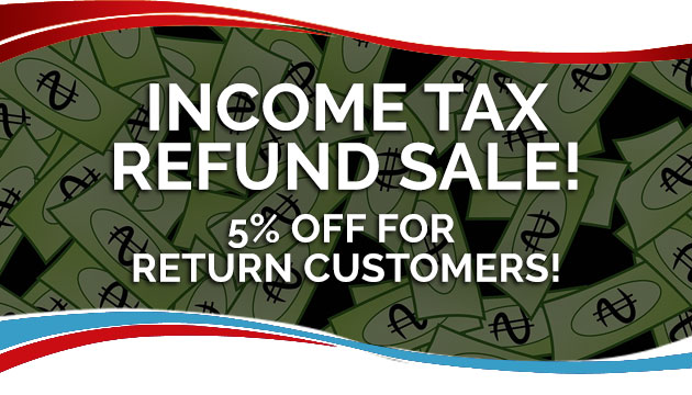 Income Tax Refund Sale