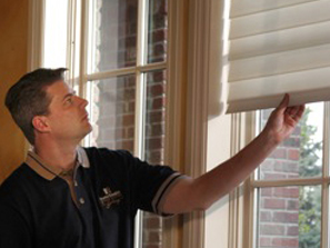 window treatment installation