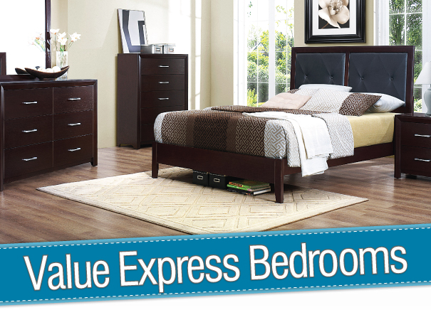 Value Express Bedrooms at Wine Country Furniture