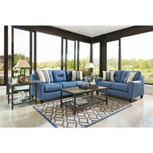 Nuvella Sofa and Loveseat
