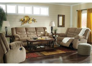 Tulen Reclining Sofa and Recliner + FREE Recliner