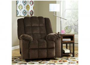 Ludden Cocoa Rocker Recliner - Buy One, Get One FREE!