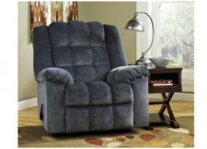 Ludden Blue Rocker Recliner - Buy One, Get One FREE!