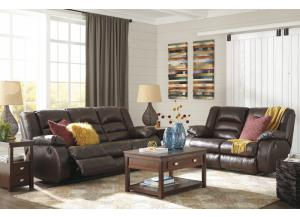 Levelland Café Sofa & Loveseat + Free TV