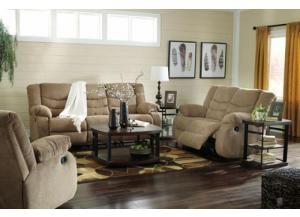 Tulan Tan Sofa and Loveseat
